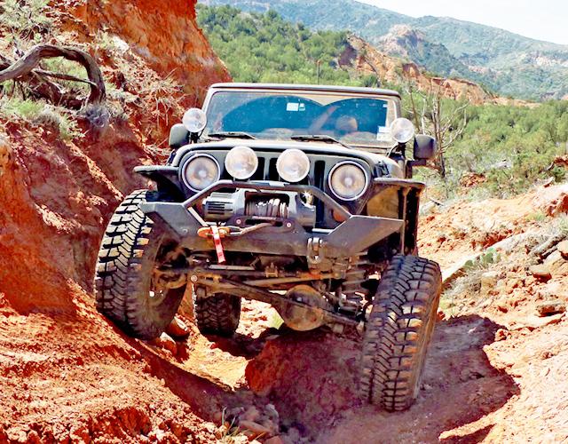 Jeep Jamboree - Offroading